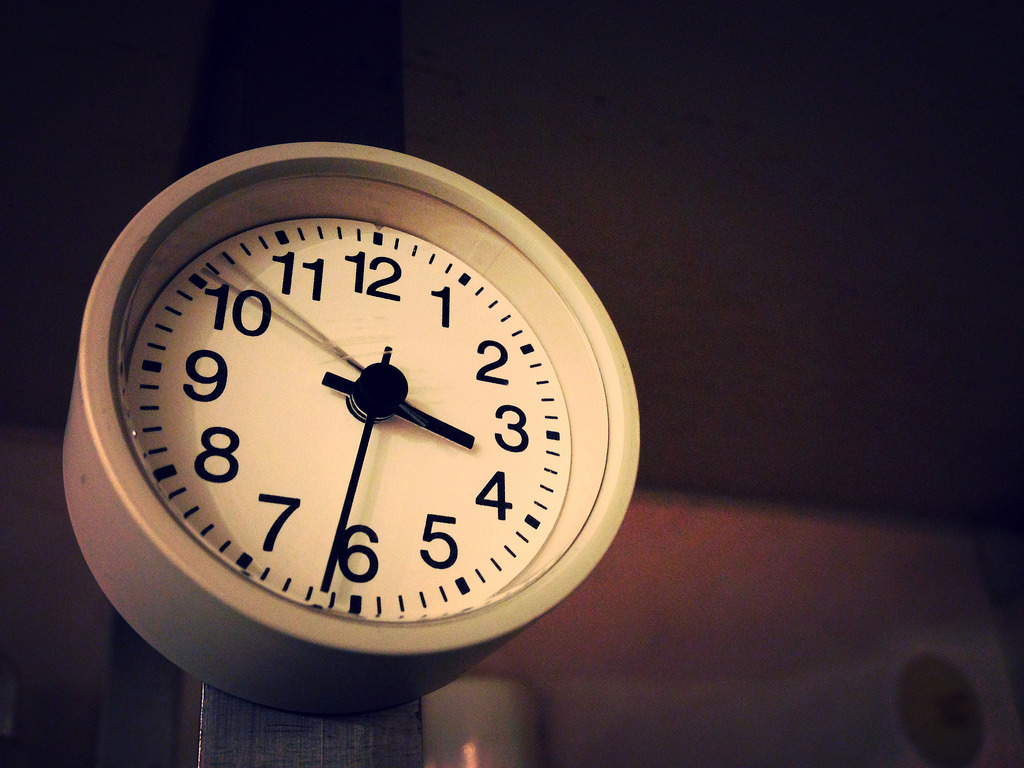 頑張る時計