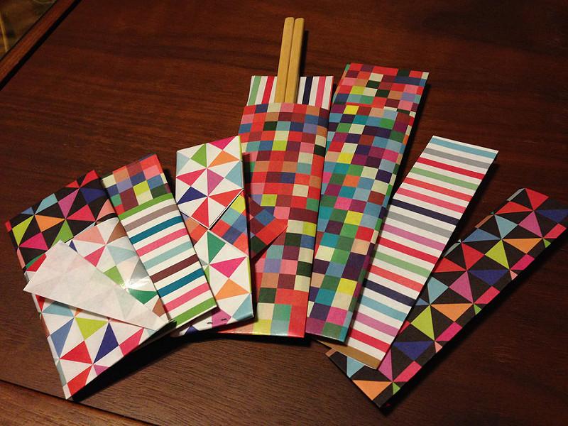のし袋とか箸袋とか