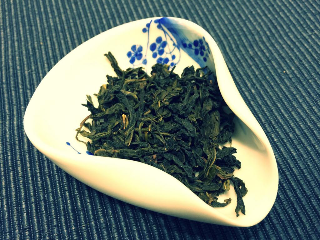 文山包種の茶葉