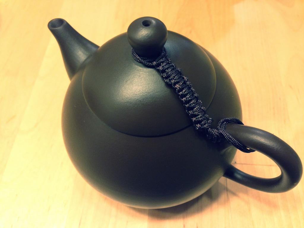いちばんお気に入りの林國順氏作の紫砂壺