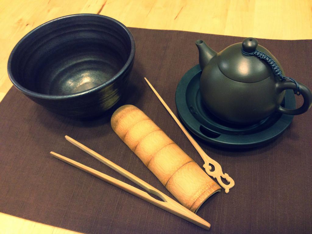 我が家の基本茶道具は鶯歌陶瓷老街で購入したものが多い