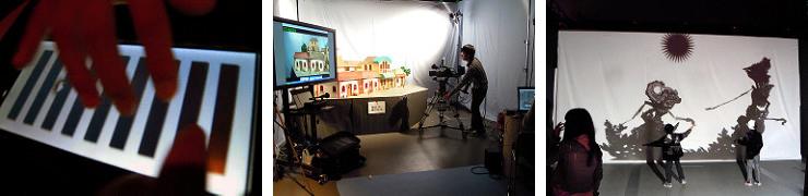 Touch the Small World、カメラマン育成所、Virtual Shadow Puppet