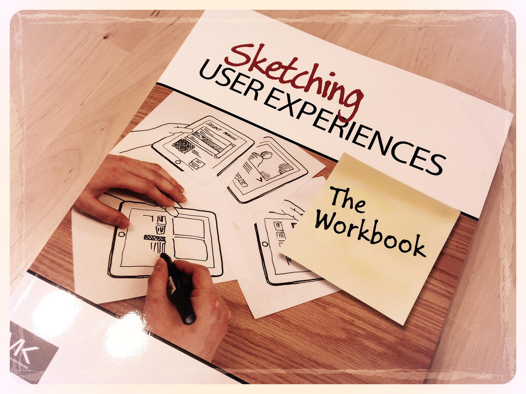 Sketching User Experiences: The Workbook 表紙