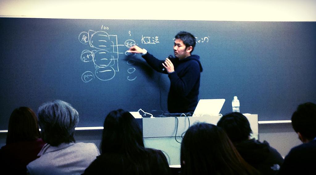 長谷川さんの講義