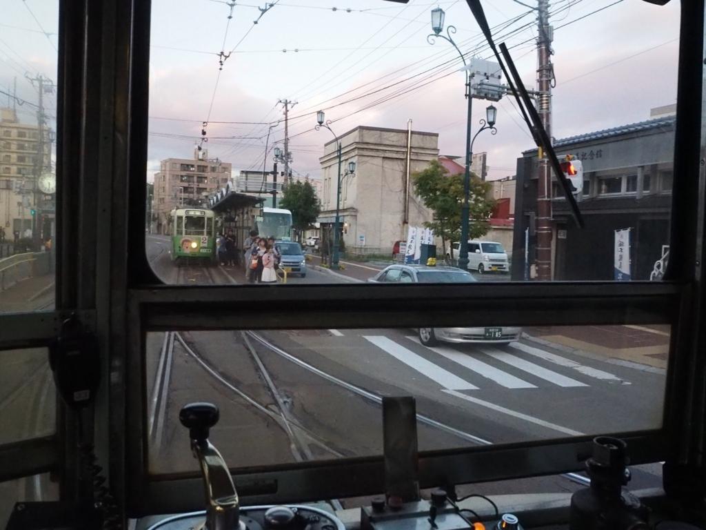 市電からの景色