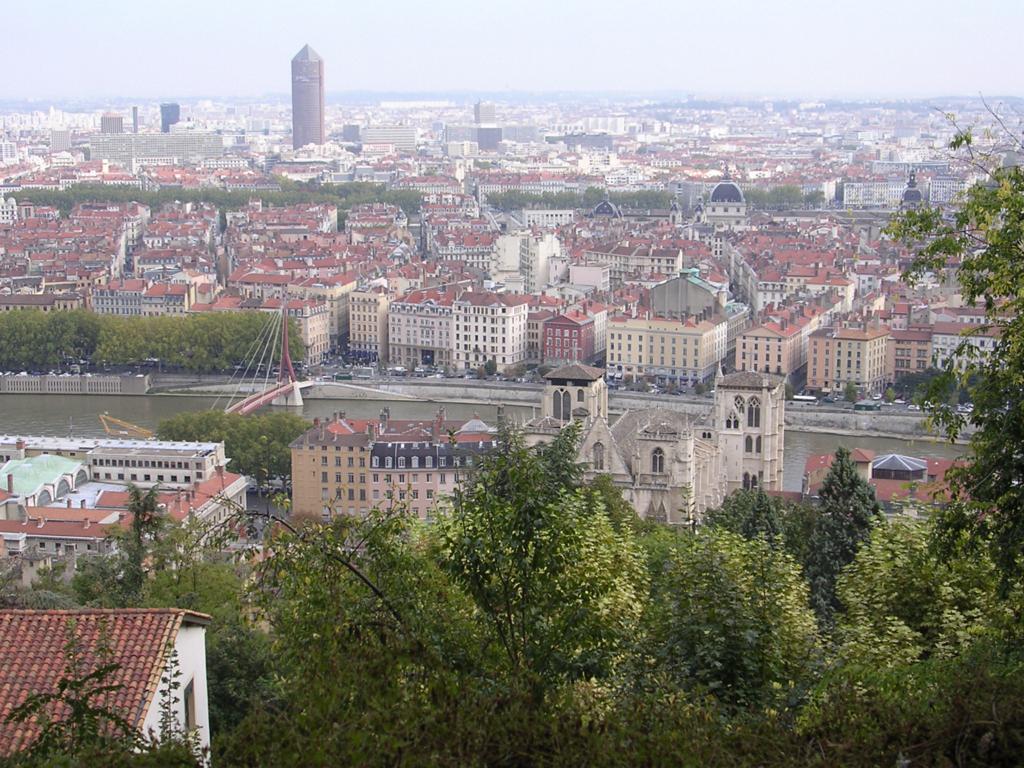 フルヴィエールの丘から見た市街