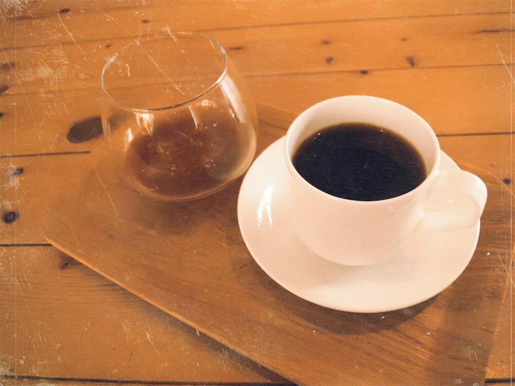 味見用のアイスコーヒーとドリップコーヒーのセット