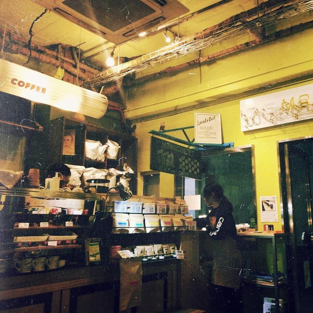 manucoffee の店内