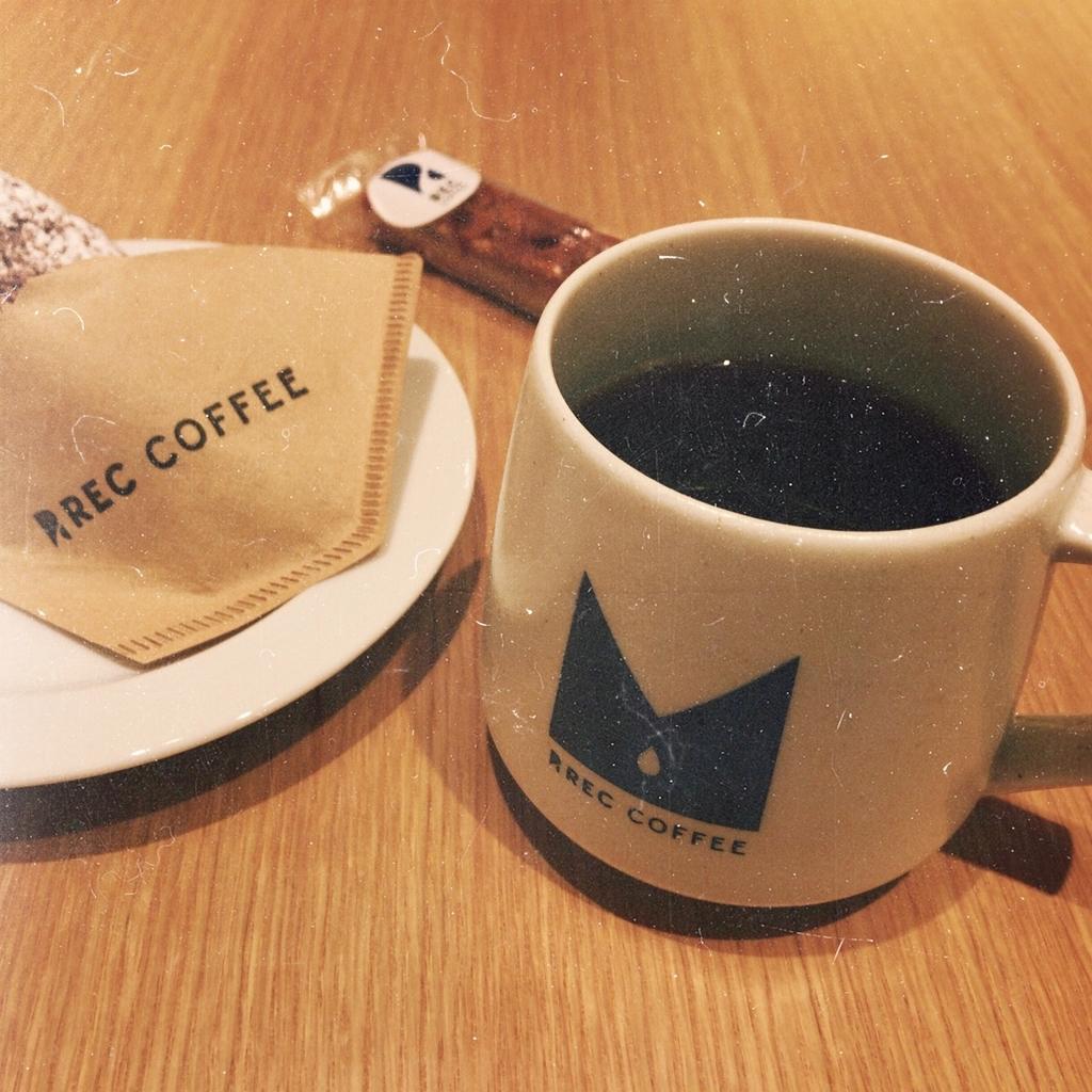 REC COFFEE meets RETHINK CAFE のハンドドリップエチオピア