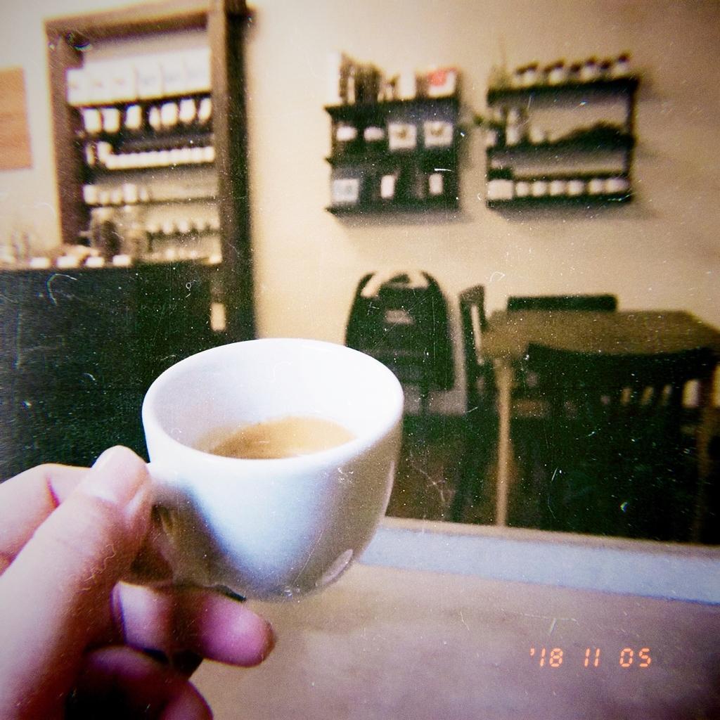 ディスプレイもコンパクトな Companion Coffee