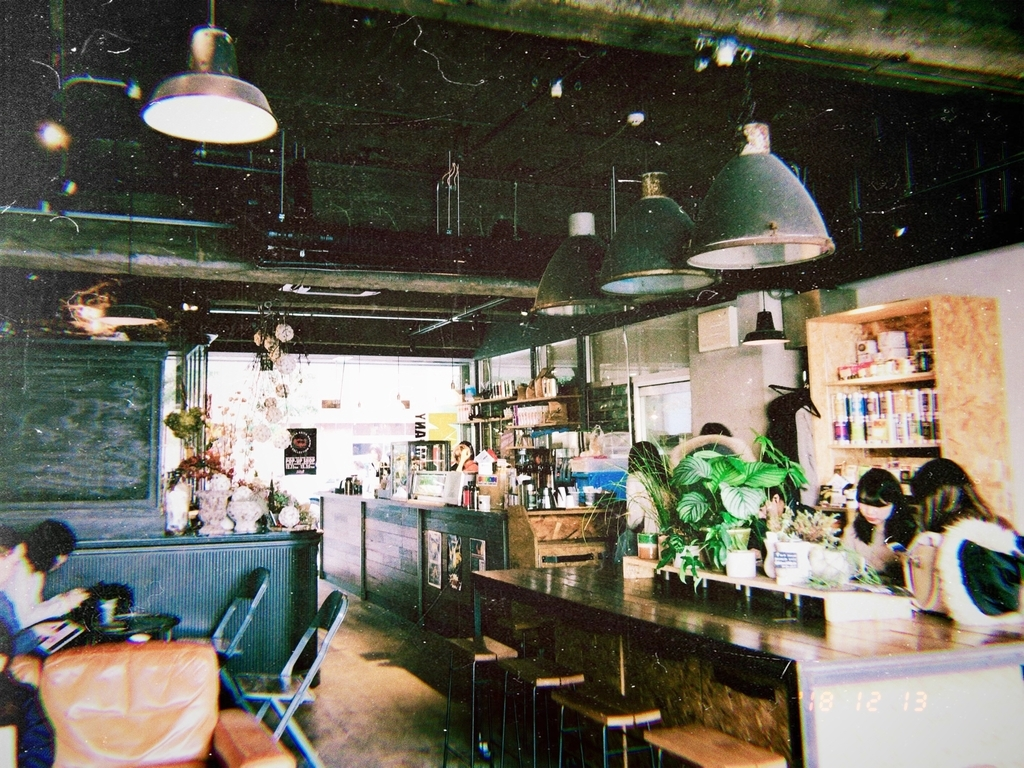 BROOKLYN ROASTING COMPANY KITAHAMAの店内