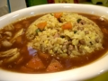 [soupcurry][porco] porco のスープカリーあんかけ炒飯 850円 辛さ 4 番