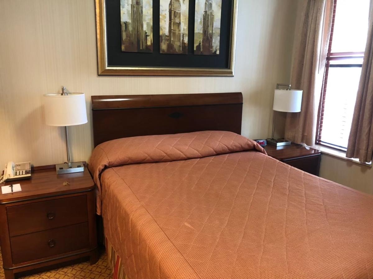 ホテル,ニューヨーク,ベッド