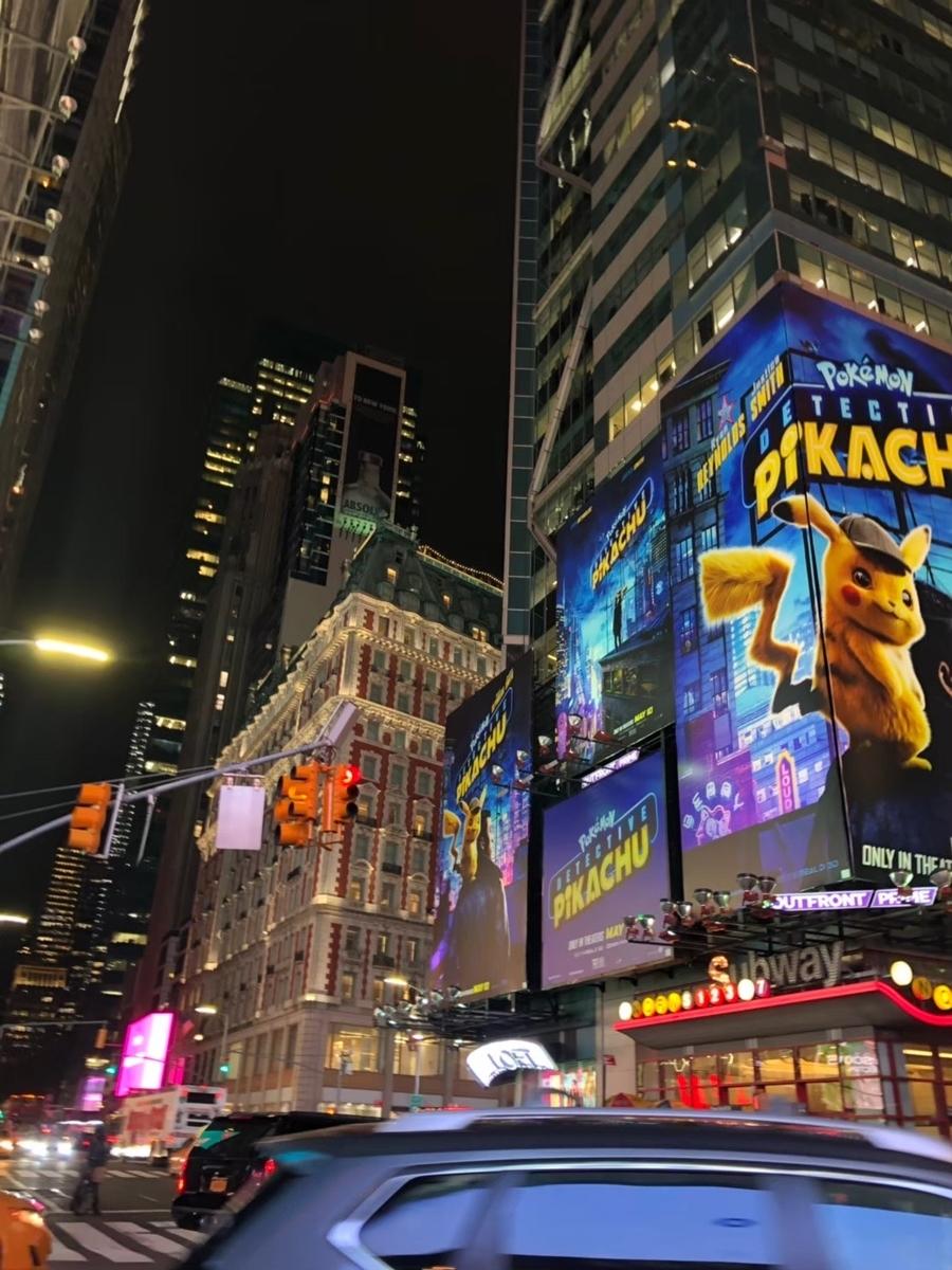 ニューヨーク,ブロードウェイ,夜景