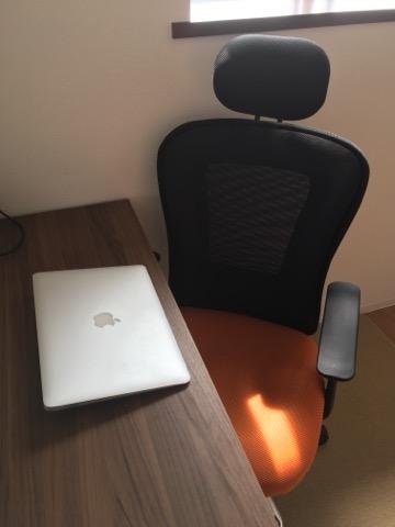 自宅での作業環境