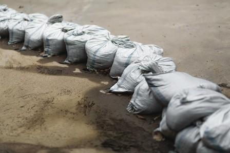 災害対策用の土嚢