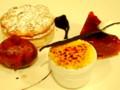 2011.10.9 おもてなしカフェ 秋の三種 栗と林檎と洋梨