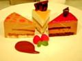 2011.10.16 おもてなしカフェ 左からカフェ・プラリネ・ノワゼット、