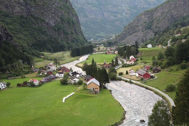 ノルウェー 村
