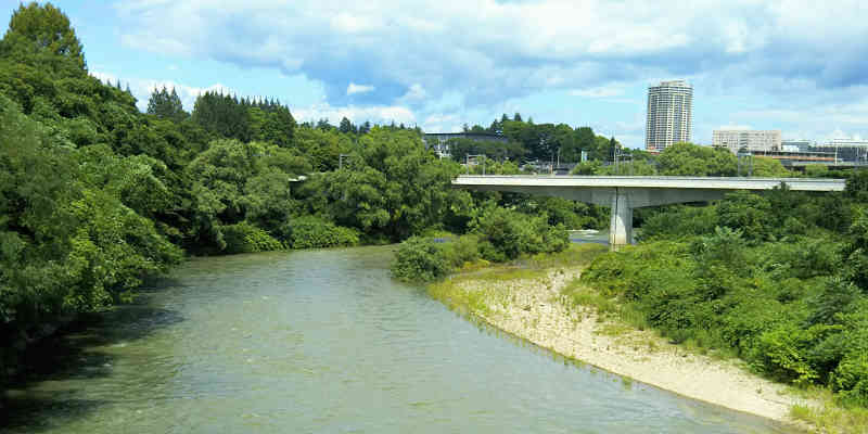 『広瀬川』