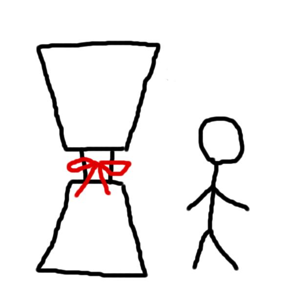 【比較】『御手杵の鞘』と『人間』