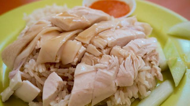 天天海南鶏飯 チキンライス