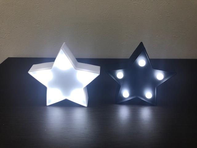 星形マーキーライト