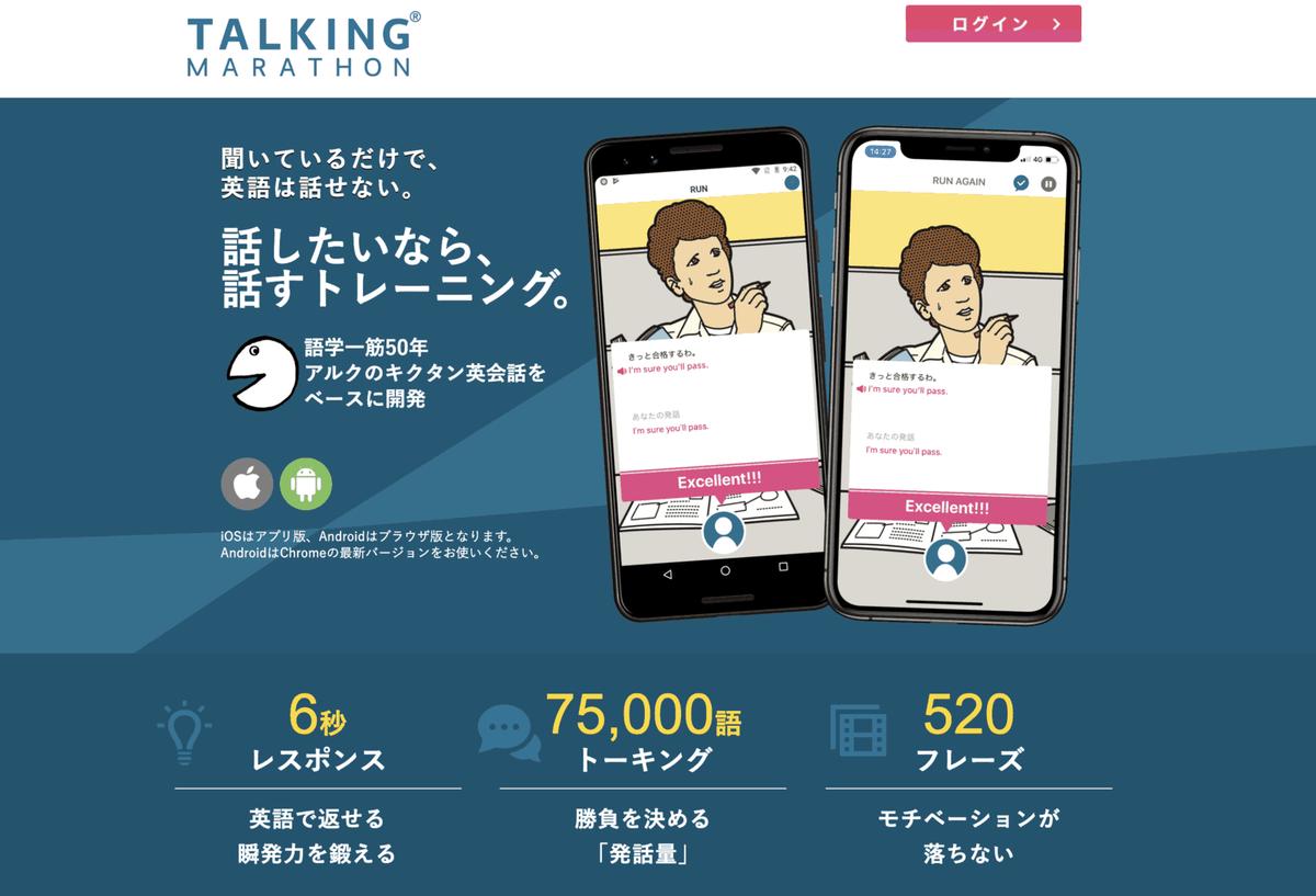 TALKING Marathon(トーキングマラソン)