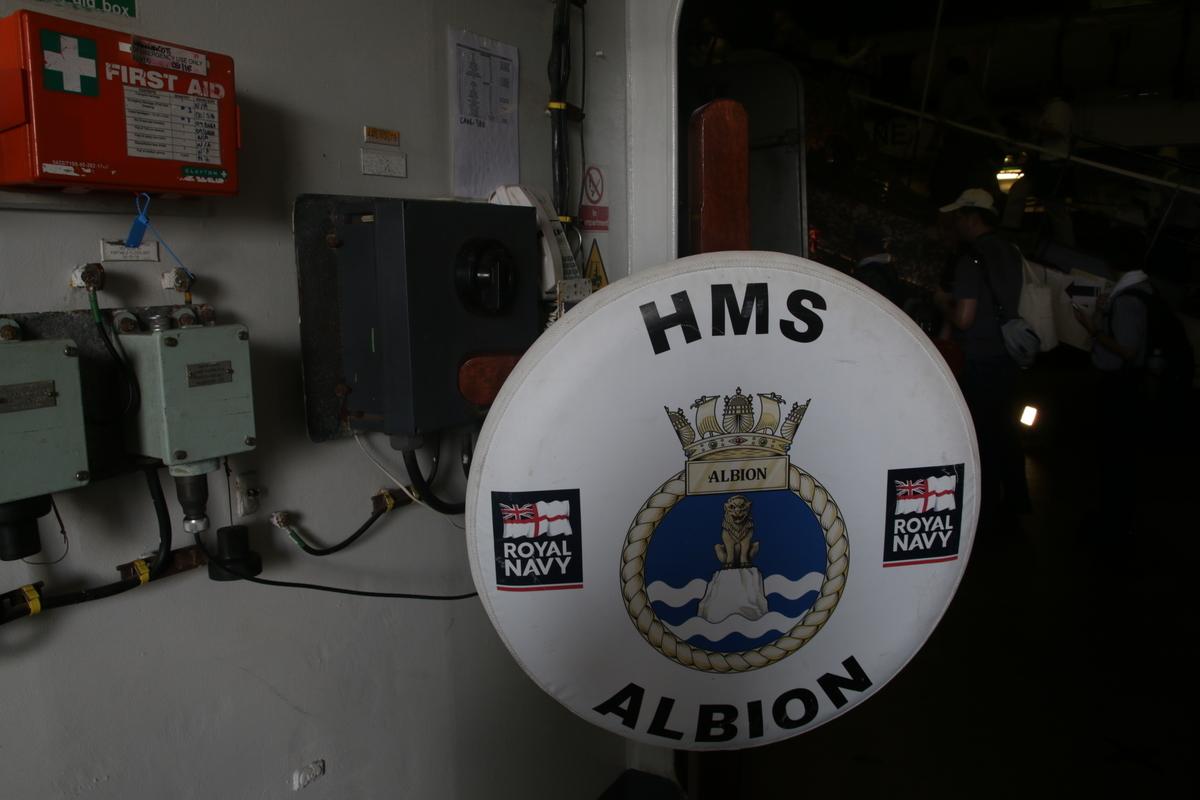 [晴海][艦船][イギリス][Alvion]