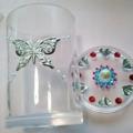 蝶々綿棒ケース1