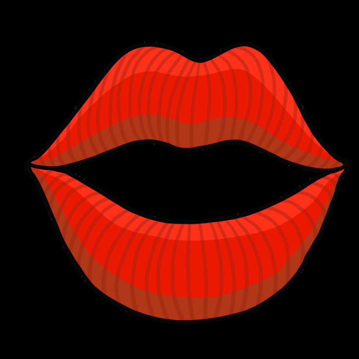 セクシーなかわいい唇