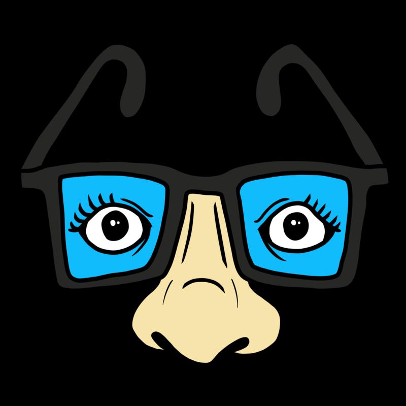 パーティーで活躍するメガネ