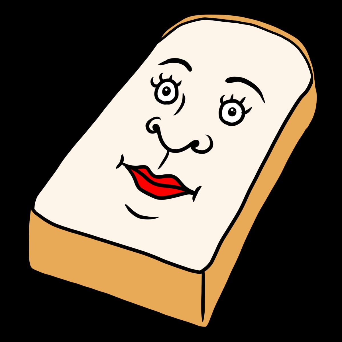 二枚目な食パン