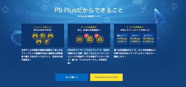 PSN | PlayStation Plusについて | プレイステーション