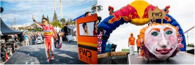 FWD富士生命、手作りカートのレースを協賛
