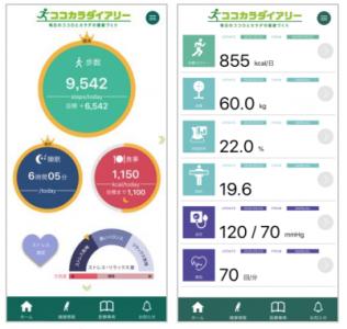体調 管理 アプリ