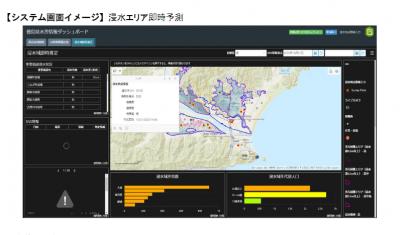 東京海上日動、自治体向け水災危険度予測システムを開発