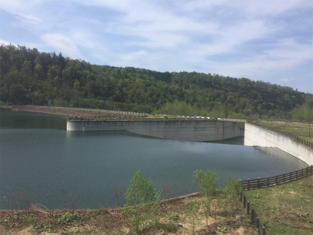ダムの景色