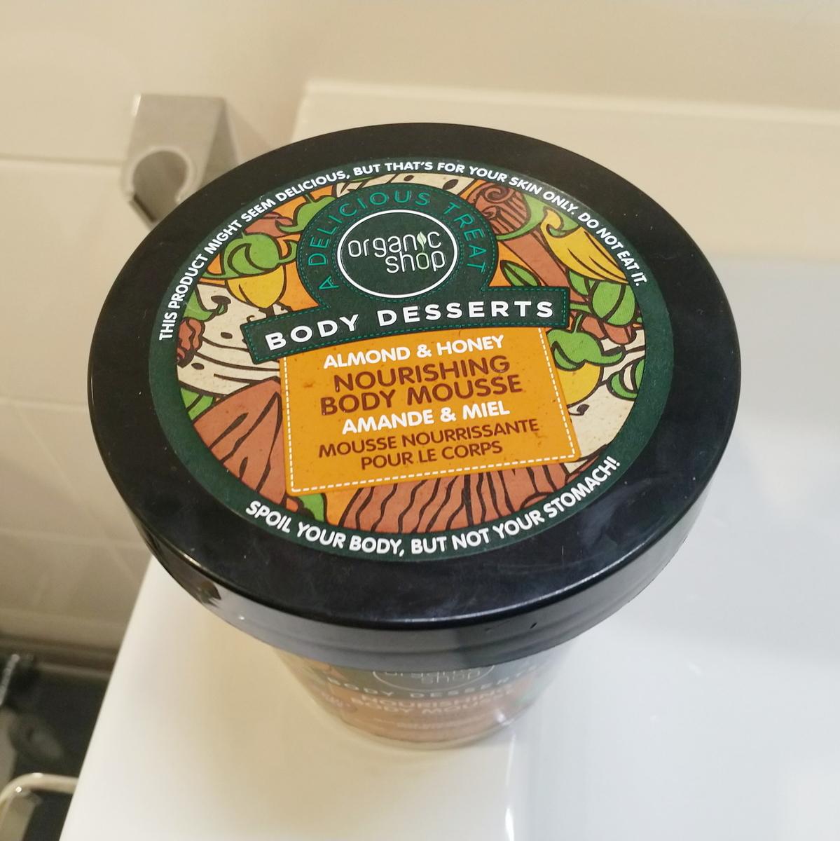 Organic shop Body Desserts Almond & Honey