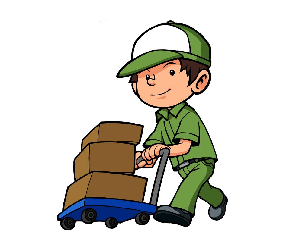 ブレーキ付き運搬台車