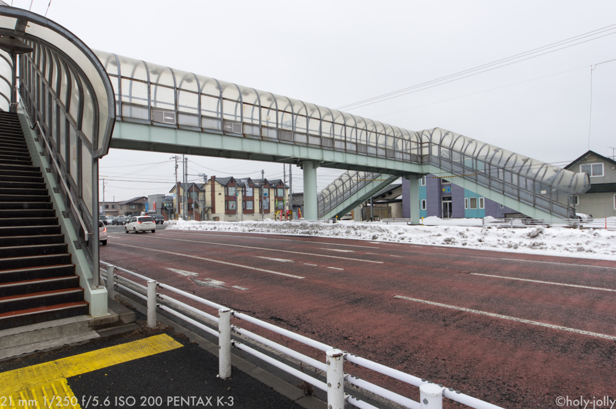 清水歩道橋写真