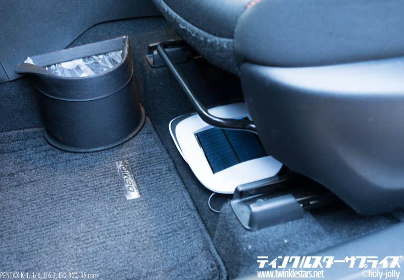 Teyimo車用空気清浄機設置4