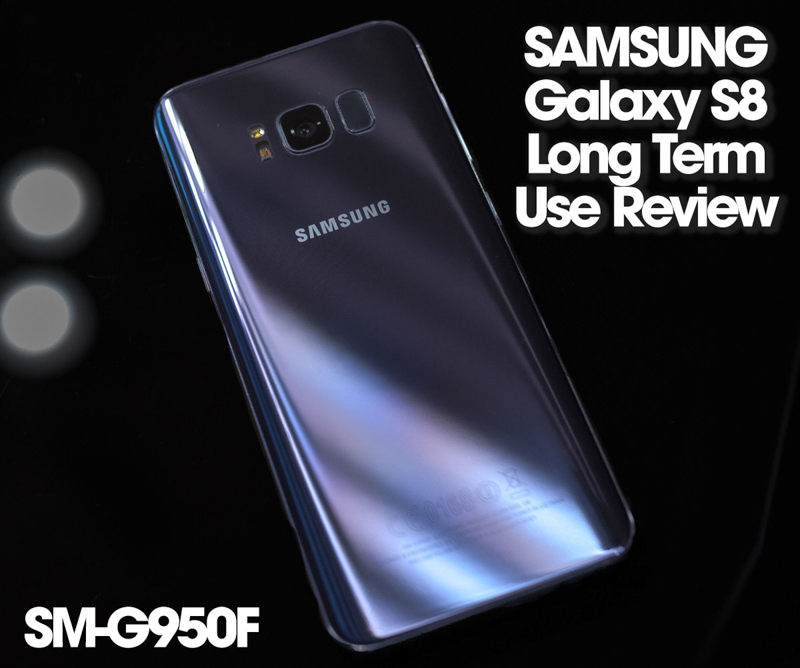 SUMSUNG GALAXY S8 レビュー トップ