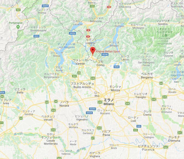 Andrea Bellati Sport Map