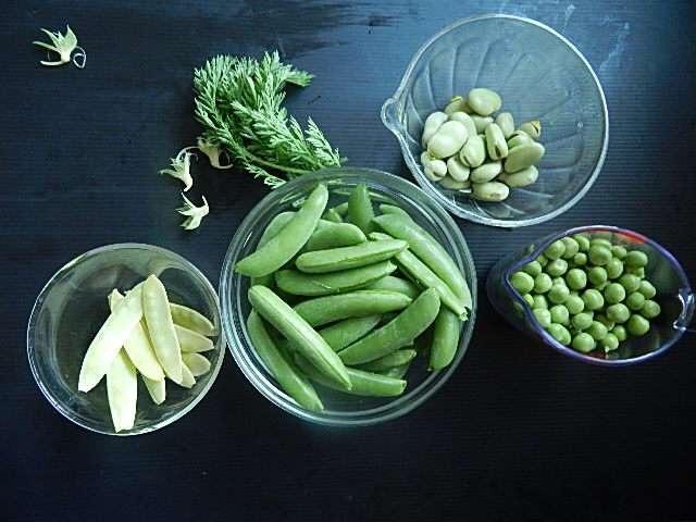 豆を下準備