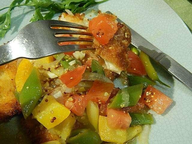 野菜ドレッシングをタップリかけて召し上がれ!