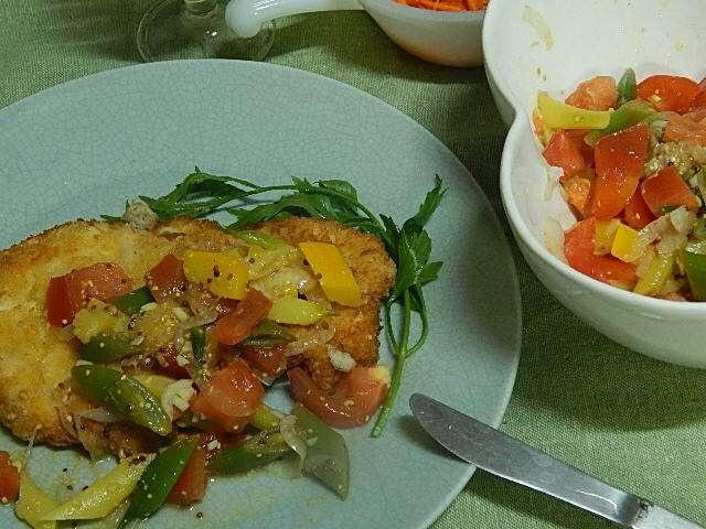 野菜農家のチキンカツレツ