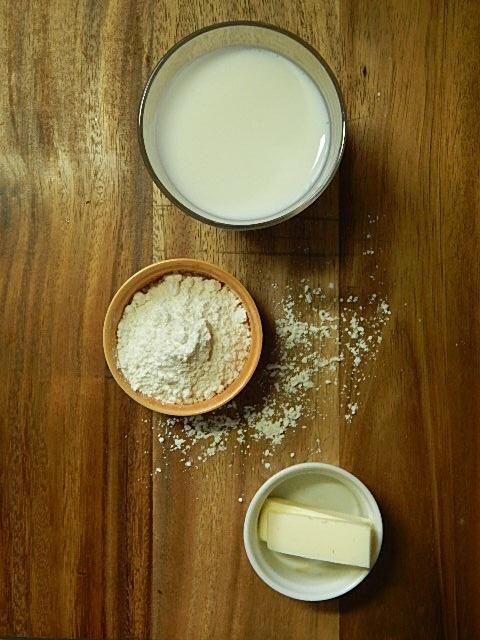 ホワイトソースの材料