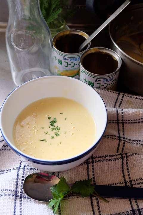 コーン・ポタージュ・スープ