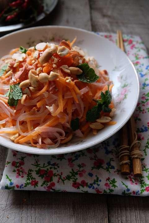 ベトナム風ニンジンのサラダ